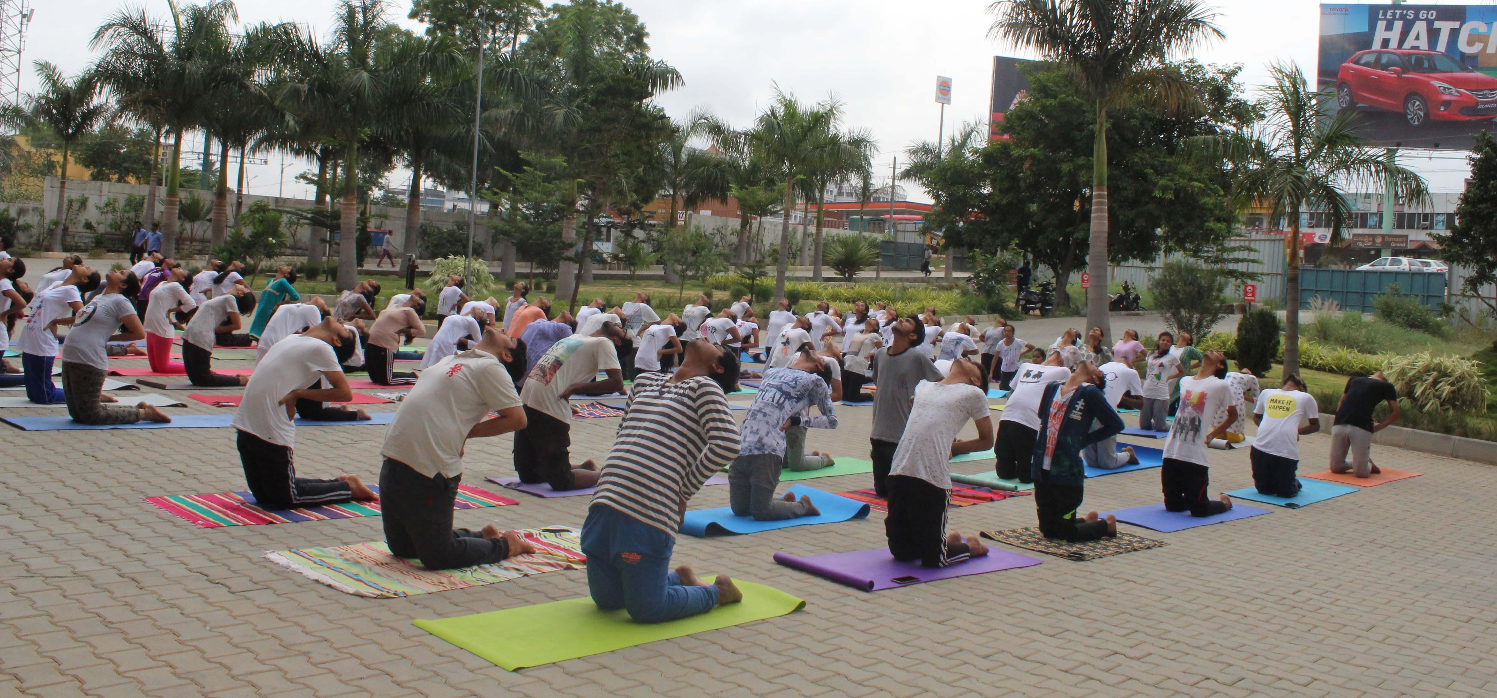 5th International Yoga day observed