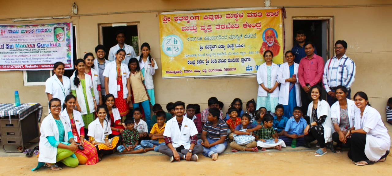 Doctors' Day at SDM Ayurveda observed at special school and orphanage