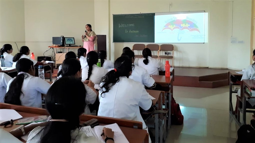 Guest lecture on 'Childhood Autism'